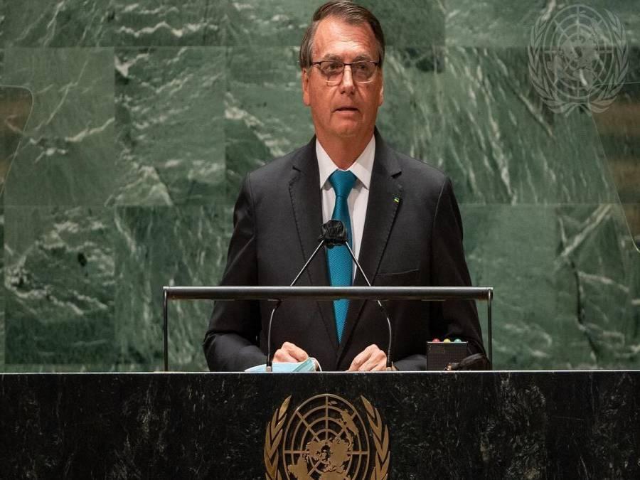 Na ONU, Bolsonaro distorce dados sobre ambiente, economia e defende tratamento ineficaz contra Covid