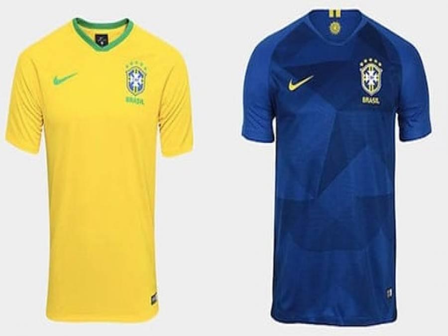 Uniformes definidos  Seleção estreia com a camisa amarela contra a ... 54e3f0128162d