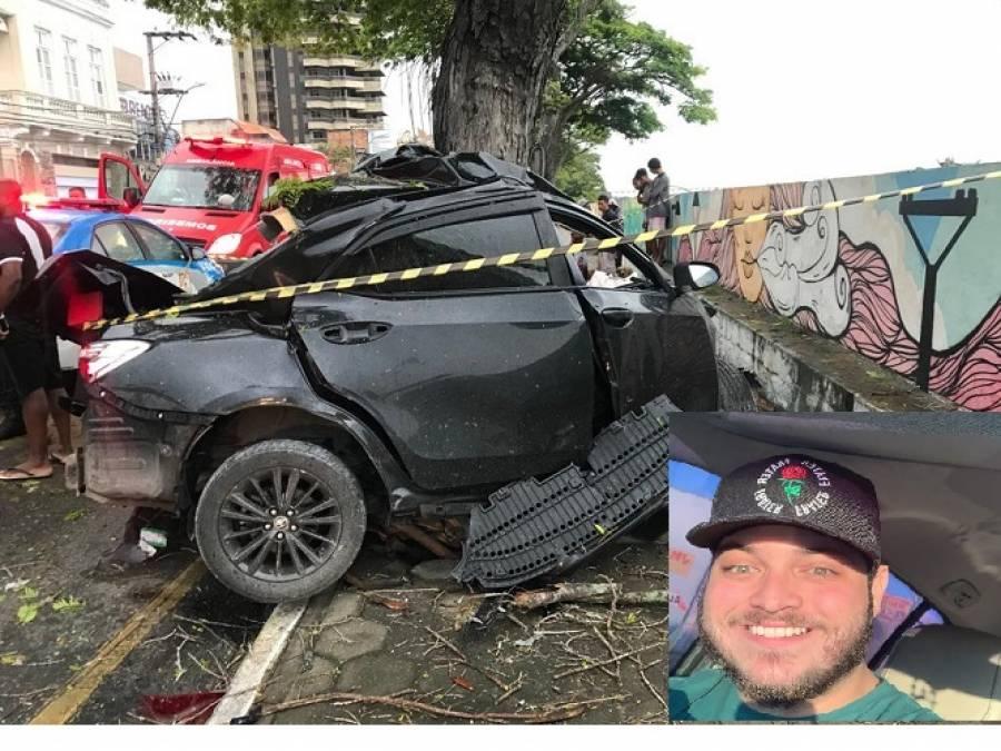 Filho da Prefeita Carla Machado morre em acidente em Campos - Portal Ururau - Ururau